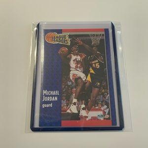 Michael Jordan '91 Fleer Card